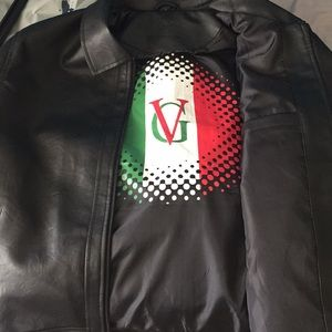 a445f548c2a VG World Collection Jackets   Coats - Black Men s Leather Jacket